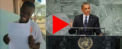 Eva Obama video link